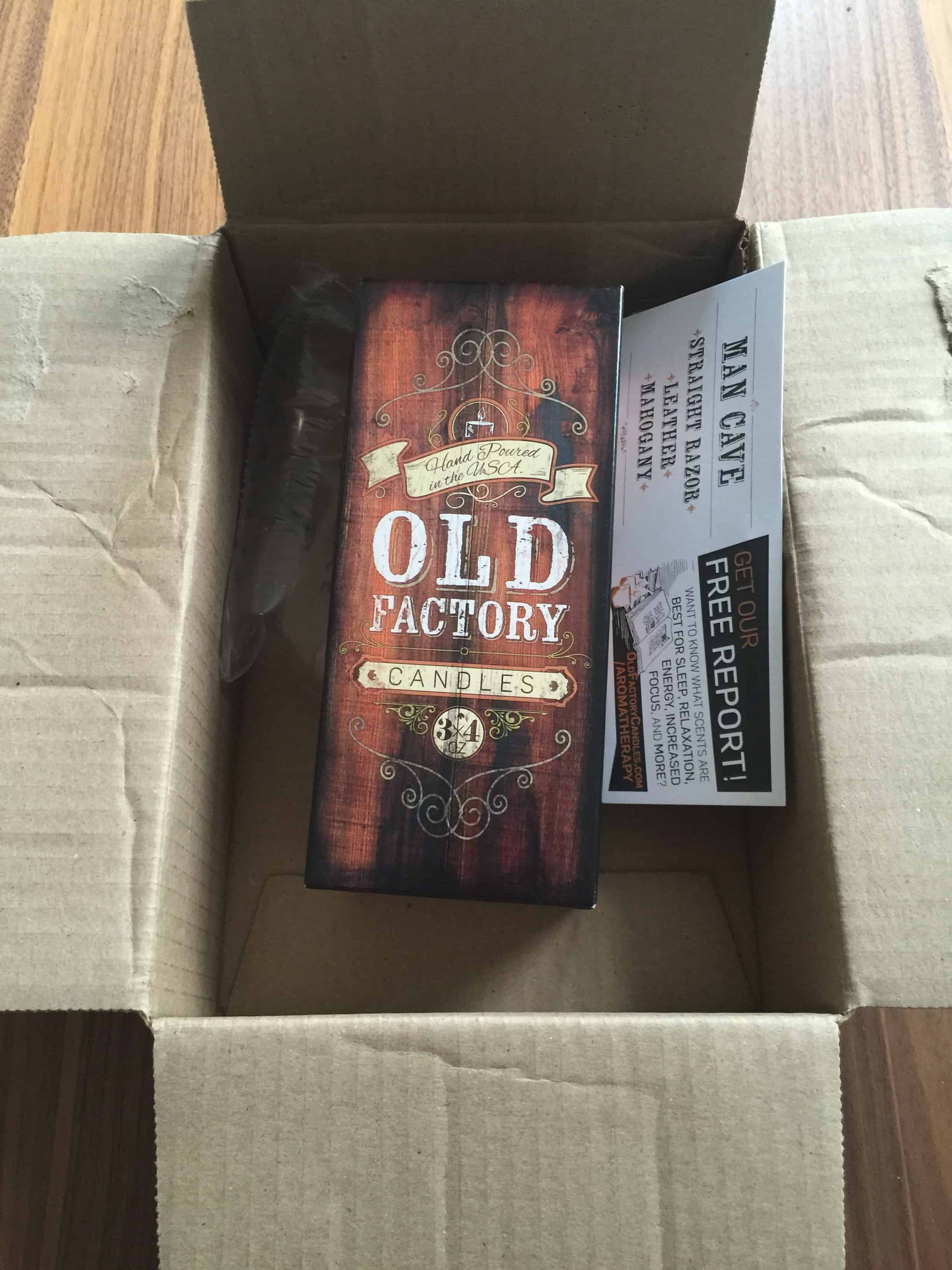 Man Cave Review : Old factory candles review these smell quot manly