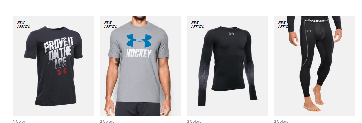 Hockey by Under Armour