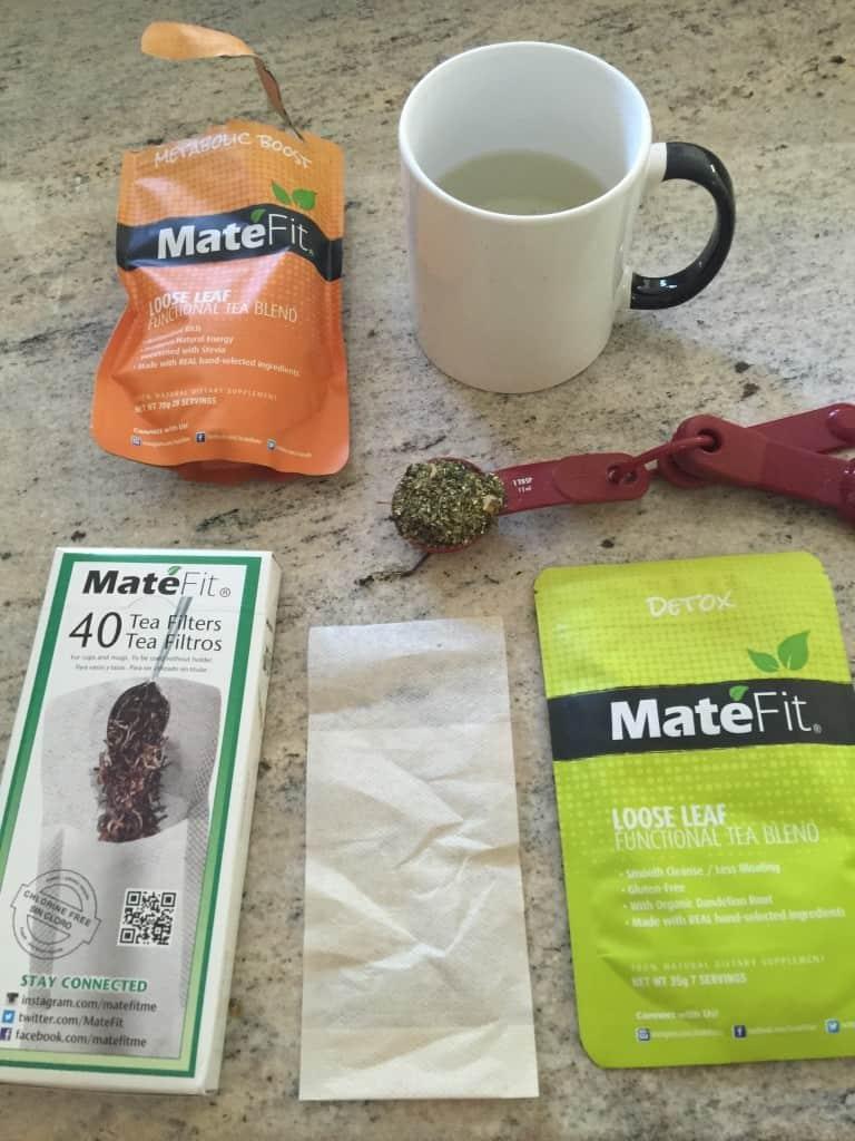 Mate Fit Detox Tea.