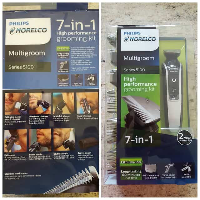 mens beard trimming kit from philips norelco