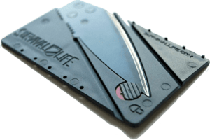 survival life credit card knife