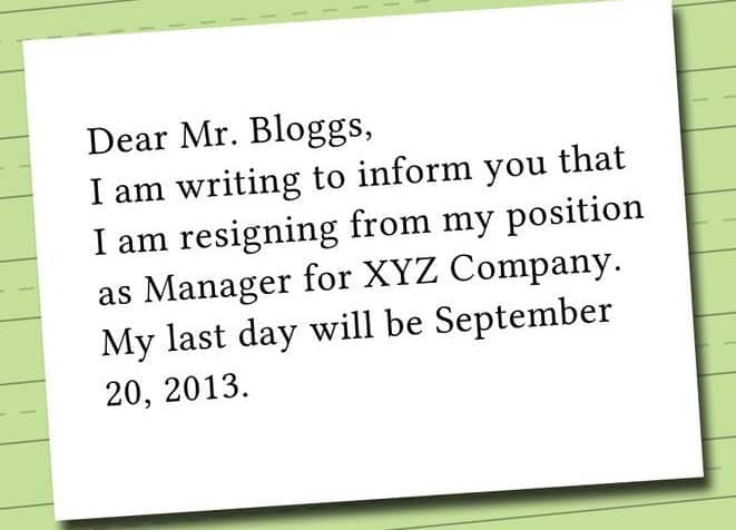 writing a two weeks notice letter tips for what to include