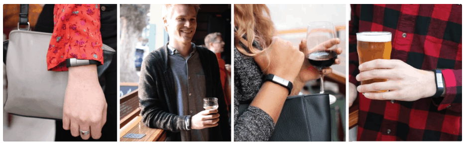 wearable breathalyzer from milo sensor