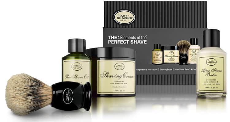 razors and accessories from The Art of Shaving