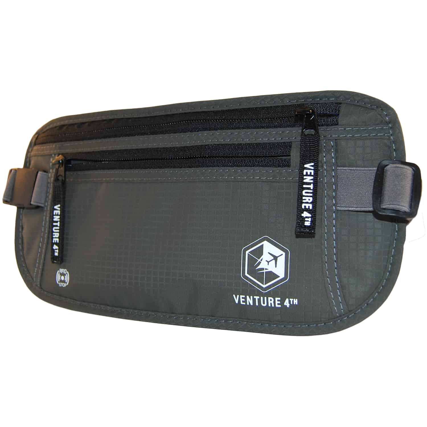 Grey Money Belt