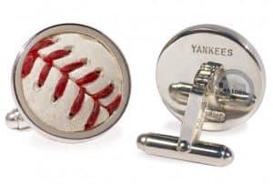 game used baseball cufflinks