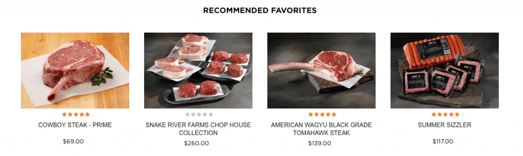 Snake River Farms Beef