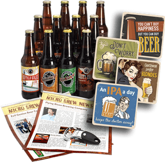 get beer delivered with the Craft Beer Club