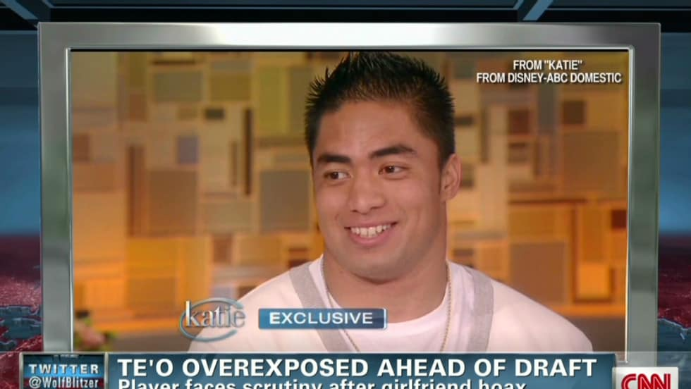Manti Te'o gets catfished