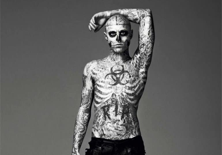 who is the most tattooed man in the world. Black Bedroom Furniture Sets. Home Design Ideas
