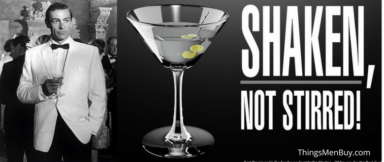 "Dec 12,  · So why would James Bond, the world's most sophisticated martini drinker, routinely order his cocktail ""shaken, not stirred""? A trio of British medical researchers believe they have the answer: The heavy-drinking most likely suffered from an alcohol-induced tremor that forced him to ."