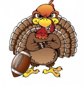 turkey and football for Thanksgiving