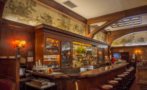 the bar at muss and frank
