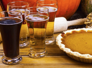 Beer goes with your thanksgiving meal