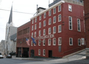 the yuengling brewery in pottsville