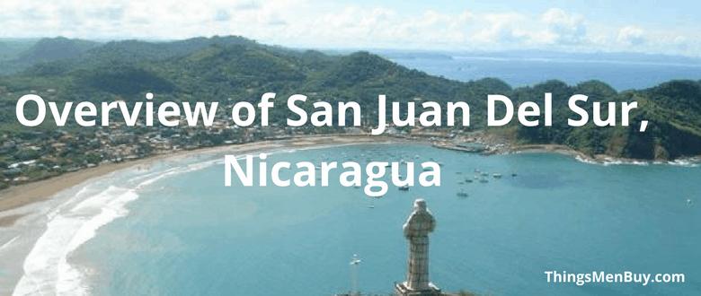 Overview of San Juan Del Sur, Nicaragua
