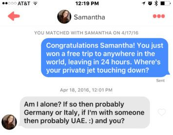 What are the Best Tinder Openers? - ThingsMenBuy com