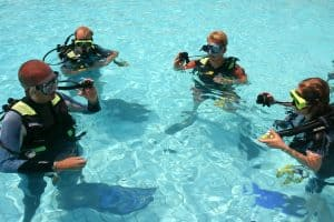 where can you learn to dive