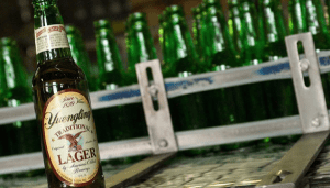history of yuengling lager beer bottles