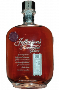 Presidential Select from Jefferson's is hard to get