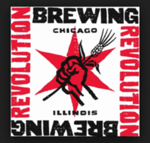chicago, illinois revolution brewing logo