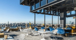rooftop bar in New York City