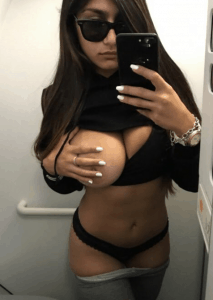 Porn actress Mia Khalifa