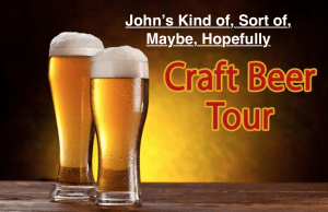 John takes a craft beer tour