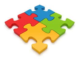 5 Steps to Completing a Jigsaw Puzzle