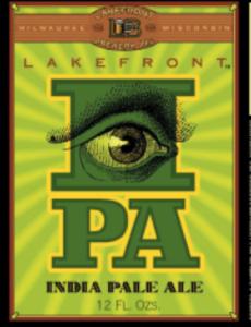Lakefront IPA Label