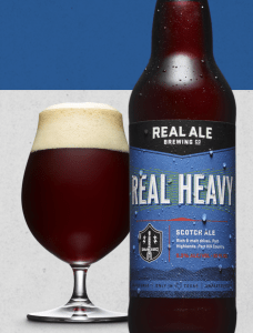 Real Heavy Scotch Ale Beer from Texas