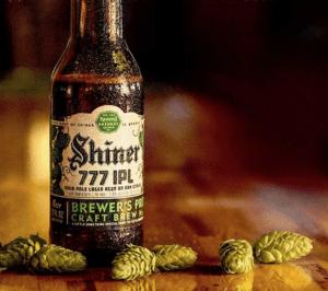 Shiner 777 IPL Beer