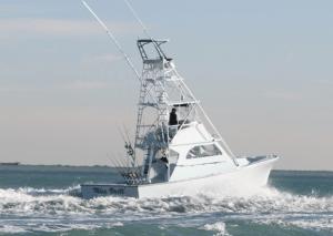 Rental Fishing Boat Offshore of Miami, Florida