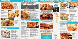 The Current Hooters Menu Explained