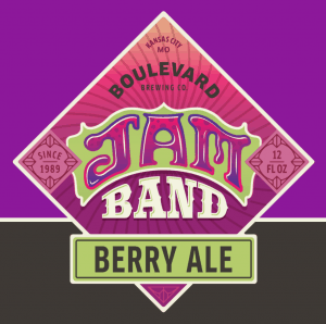 Boulevard Brewing Jam Band Craft Berry Ale Label