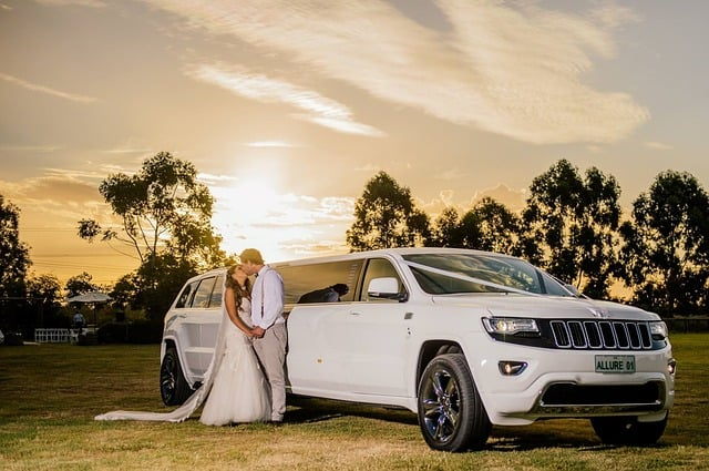 limo driver for your wedding