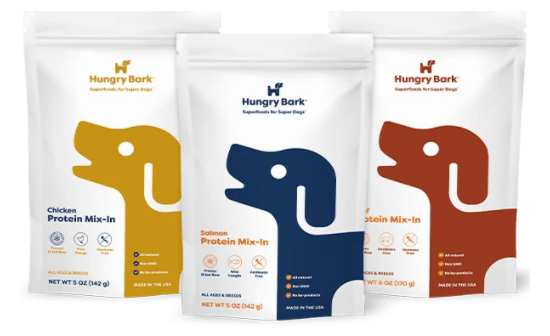 Hungry Bark protein mix-ins